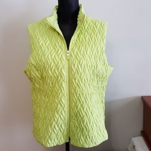 NWT Quantum Apparel Quilted Sleeveless Vest (L)